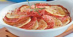 Imagem - Batata e Salame no Forno