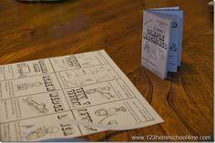 Techniek: Miniboekje Eenvoudige machines -Simple Machines – Printable Mini Book - 123homeschool4me
