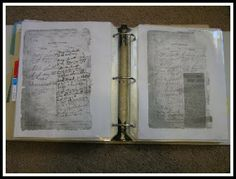 Organizing and storing genealogy records and fact sheets                                                                           ~ Grandma's Chit Chat: Genealogy - Storing that Stuff!