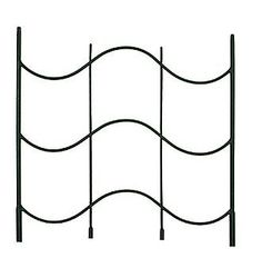 Achla Designs FT-16E Waves Trellis Extension by Achla. $21.99. For use with ft-16 waves trellis. 24 inch extension. Wrought iron. Easy slide-in extension. Black powder coated. 2-inch  extension for the waves trellis. Gain height with this addition to the FT-16. Wrought iron construction with a black powder coat finish.. Save 27% Off!