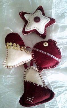 La Girandola Creativa: decorazioni natalizie in feltro