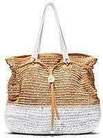 You could win this goodie-packed beach bag from Henri Bendel!    #Off Duty Style