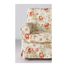 IKEA - EKTORP JENNYLUND, Chair, Byvik multicolor, , A range of coordinated covers makes it easy for you to give your furniture a new look.The cover is easy to keep clean as it is removable and can be machine washed.