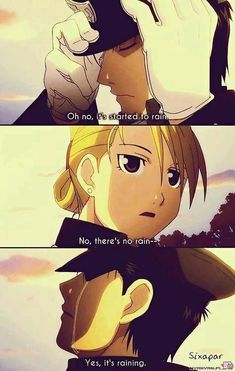 Full Metal Alchemist: Brotherhood.*tears* // I love how she just accepts it thou... ,  #accepts #alchemist #brotherhood #Brotherhoodtears #Full #love #metal #tears #thou