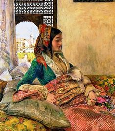 Life in the Harem, Cairo 1858 By John Frederick Lewis