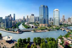 Chengdu, Home of the largest building in the world: GLOBAL CENTER, I think this city will be the next Silicon Valley of the world. Home of the Pandas.  And most famous in China for the hot spicy food.  I have tasted food like non other than here. Very delicious!