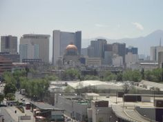 Vista de la ciudad desde Fórum Buenavista.