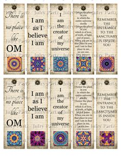 OM Bookmarks ROCK STAR Yoga Bookmark Rectangle Image by JulryPartZ, $3.25