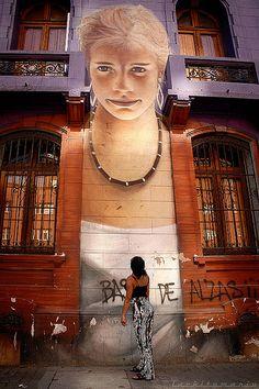 Street art - Santiago, Chile