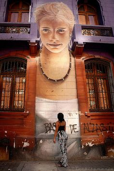 Street art - Santiago, Chile
