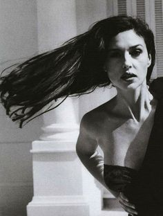 Monica Bellucci by Helmut Newton for Vogue Italy, August 2001