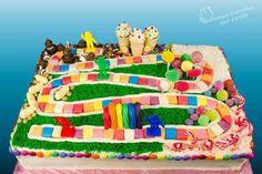Candy Land sheet cake