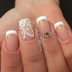 Beautiful Nail Design by @Nails_IrinaMarten