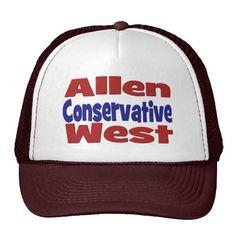 Allen West Conservative Hat  #Allen #West #AllenWest #conservative