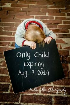 Cute announcement for 2nd kid.