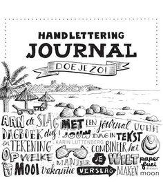 Handlettering journal doe je zo! Art Journals, New Music, Bujo, Arabic Calligraphy, Letters, My Love, Instagram Posts, Zentangle, Scrap