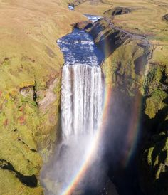 If you want to see rainbows you gotta put up with a little rain. Or standing close to a big ass waterfall will work too. Who here loves optical physics? I know I do!!!
