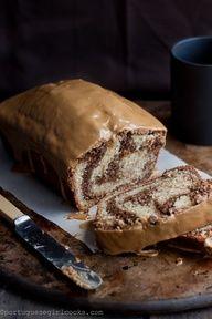 Mocha Swirl Bread w/Espresso Glaze