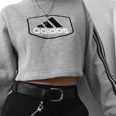 new style clothes Tumblr Fashion, Teen Fashion, Winter Fashion, Fashion Outfits, Mode Outfits, Trendy Outfits, Summer Outfits, Outfit Stile, Adidas Outfit