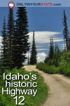 Travel | Idaho | Iconic | Drives | Scenery | Nature | Beautiful