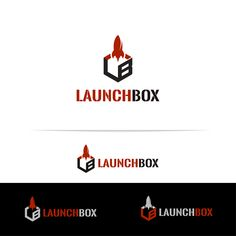 """""""LaunchBox"""" a non-profit serving as the front door to entreprenuers of Clarksville TN, a Logo project on crowdspring Custom Logo Design, Custom Logos, Graphic Design, Creative Logo, Professional Logo, Non Profit, Design Inspiration, Names, Visual Communication"""