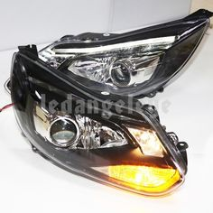 Fit Ford 2012 Focus LED Head Lights with Bi Xenon Projector Lens