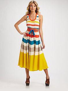 Marc by Marc Jacobs Simone Stripe Dress