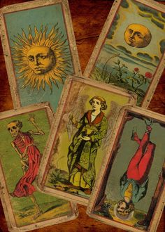 SALE on TAROT: The Deck Of The Bastard - The Most Unique Vintage (looking) Tarot Deck You Will Ever Find (Now on Premium Cardstock) $56