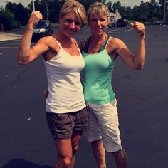 Power up with your mom! Nothing better than a mom and daughter that KNOW how important being healthy is! Share this with 2 moms that you know!
