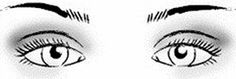 Almond shaped eyes: To accentuate this eye shape, the trick is to use darker shadows to contour the crease and add depth. Click for more tips! // really great info here for all eye shapes