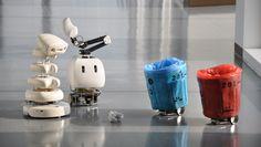 ひとりでは何もできない。人間が手をさしのべて、初めて機能するちょっと情けない「弱いロボット」は、役には立たないけれど、わたしたちにさまざまなことを教えてくれる。自分ではゴミを拾えない手のかかるゴミ箱ロボットや、うまくしゃべれないロボットたちが、渋谷「loftwork lab」に集結する。