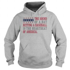 The heartbeat of America Baseball  1016 - Hot Trend T-shirts