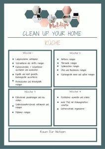 Monats-Checkliste-Kueche