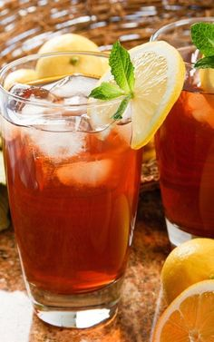 A classic favorite, reinvented the healthy way--The New Southern Style Sweet Tea!