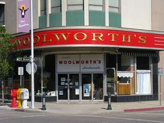 WOOLWORTH'S LUNCHEONETTE  Bakersfield, California, via Flickr.