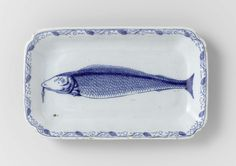 Week 34: Herring dish, De Porceleyne Byl, c. 1760-1790