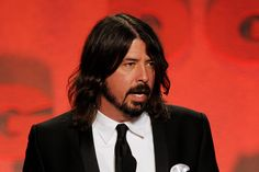 Dave Grohl.....in a suit.... mmmmmm