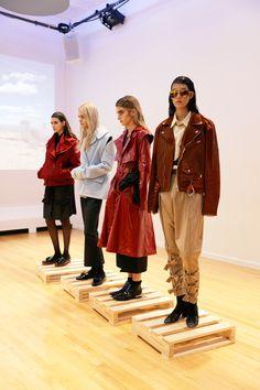 Nika Tang AW16 at New York Fashion Week. ph: Jan Luengo Mi.Magazine @nikatang