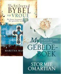 STILTETYDBYBEL VIR VROUE &  MY GEBEDEBOEK COMBO. Beskikbaar by CUM Boeke in Suid-Afrika teen 'n UITSTEKENDE PRYS!!!