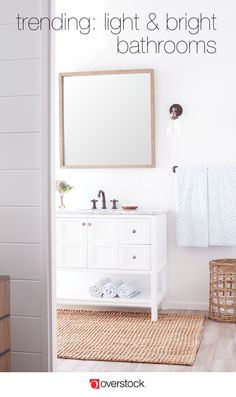 Find everything you need to give your bathroom a refresh at Overstock.com. Shop thousands of products and beautiful new furniture, including this shelving unit, at the lowest prices---coffee tables, lamps, home décor, and more! Overstock.com -- All things home. All for less.