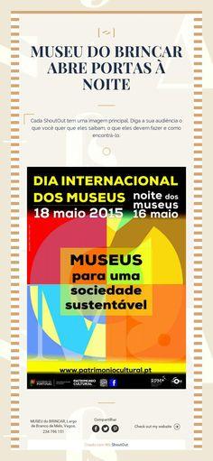 MUSEU DO BRINCAR ABRE PORTAS À NOITE
