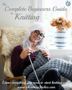The beginners guide to Knitting Title Picture