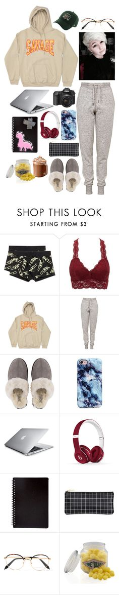 """Editing All Day"" by kirstymilli99 ❤ liked on Polyvore featuring Charlotte Russe, Topshop, UGG, Beats by Dr. Dre and Victoria Beckham"