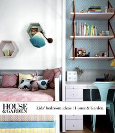 Home decor, unique ideas for children's bedrooms and playrooms Eaves Bedroom, Childrens Room Decor, Kids Bedroom, Bedroom Ideas, Small Rooms, Home And Family, Interior Design, Playrooms, Furniture