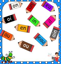 Canevas ouverts au préscolaire French Words, Learn French, French Language, Literacy, Playing Cards, Teacher, Activities, Learning, Sons