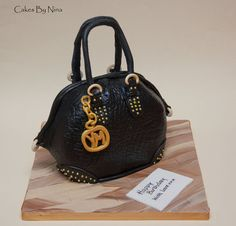 Studded Handbag  Cake by cakesbynina