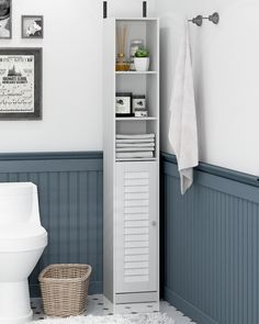 Furniture For Small Spaces, Home Office Furniture, Furniture Plans, Furniture Online, Bath Cabinets, Small Bathroom Storage Cabinets, Bathroom Storage Furniture, Clever Bathroom Storage, Small Bathroom Organization