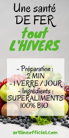 Un concentré de super aliments bio pour avoir une santé au top, tout en gardant la ligne plus facilement. Calories Fruits, Green Juice Detox, Breakfast Bowls, Sprouts, Vegetables, Blog, Routine, Smoothie, Nutrition Meal Plan