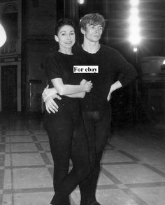 Rudolf Nureyev and Margot Fonteyn Rehearse for Royal Academy of Dance Gala Photo