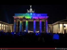 Since 2005 the FESTIVAL OF LIGHTS® is turning Berlin into a world full of breathtaking light art during Berlin Light Weeks in October. Festival Lights, Light Art, City Lights, Berlin